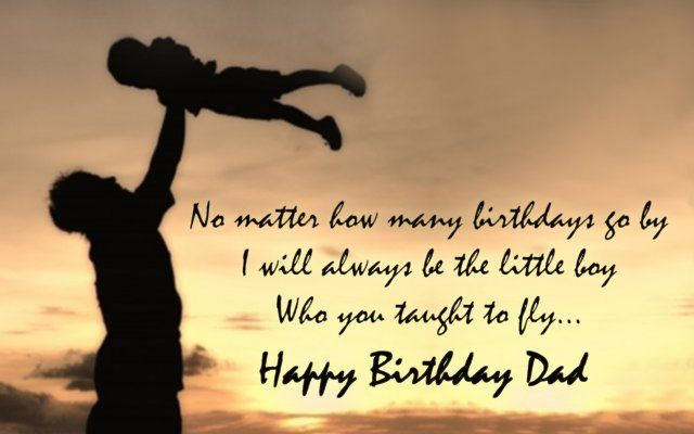 Happy birthday message for dad/papa