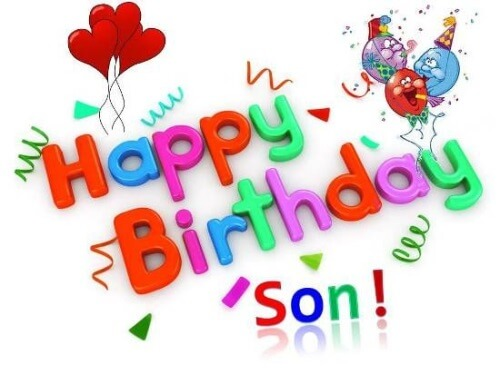 Happy Birthday Son Wishes