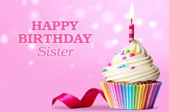 Happy Birthday Wishes Status and Quotes for Sister