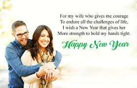 Happy new year messages for Husband & Wife