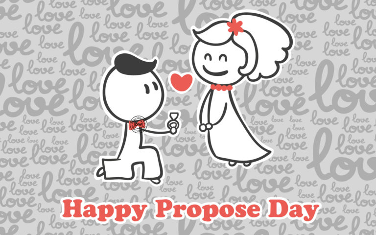 Happy Propose Day Hd Wallpaper