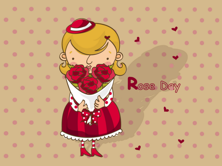 Rose day message