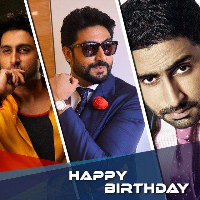 Abhishek Bachhan birthday status