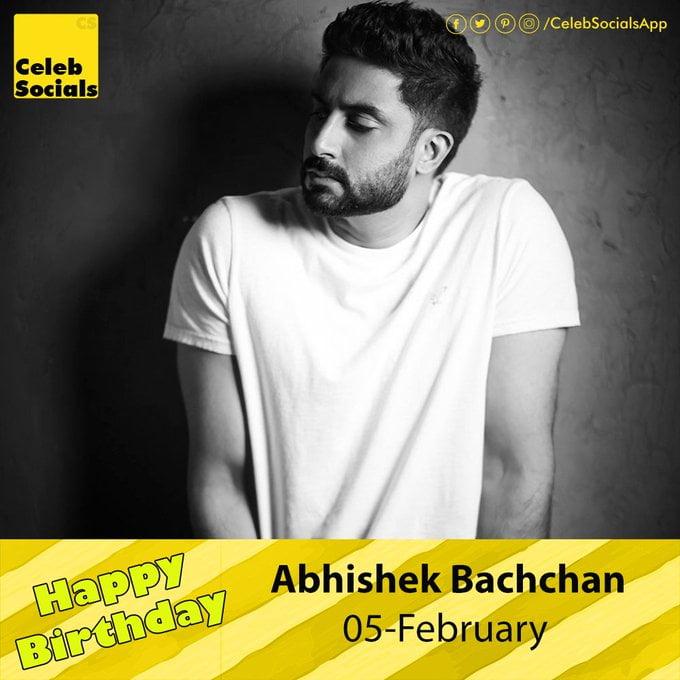 Abhishek Bachhan birthday pictures