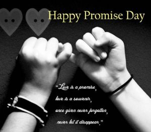 Happy Promise Day message