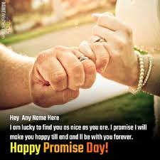 happy promise day for friends