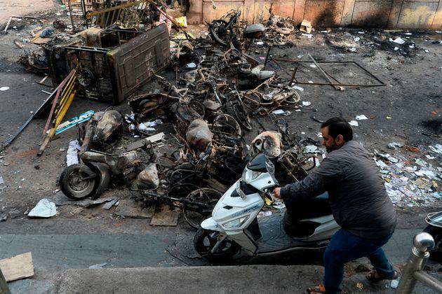 Delhi Riot pictures