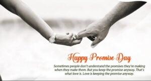 happy promise day dp
