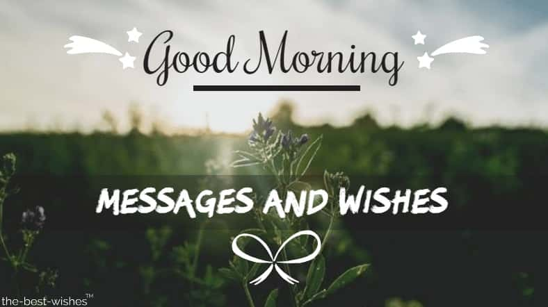 Morning sms