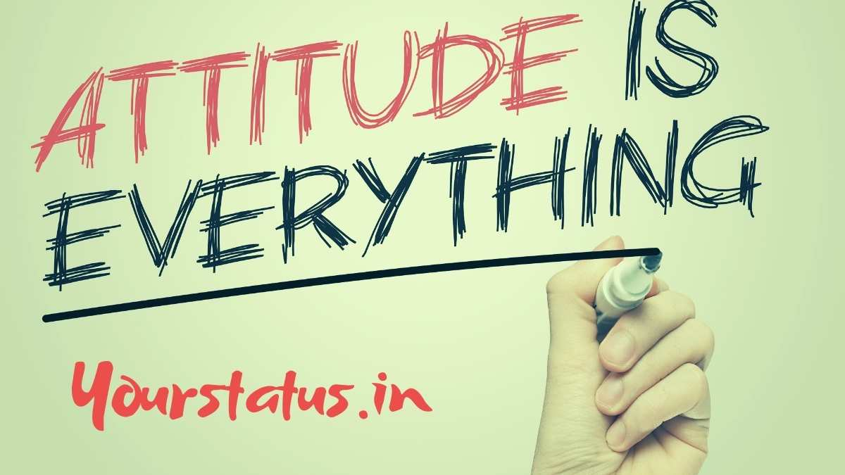 Attitude Status In English & Hindi: Attitude Quotes for WhatsApp