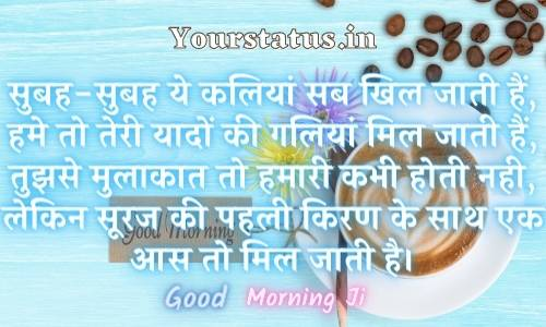 Good Morning Messages In Hindi For Friends